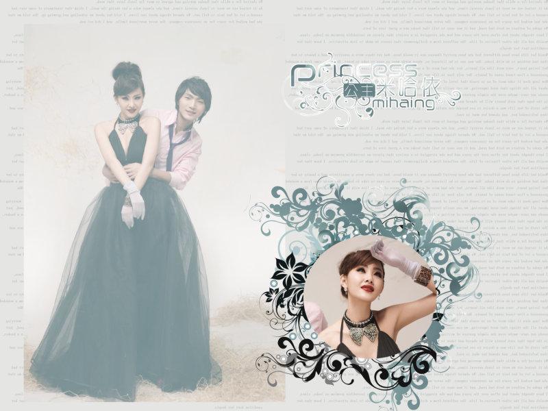 哈米依公主|时尚婚纱模板psd素材免费下载7