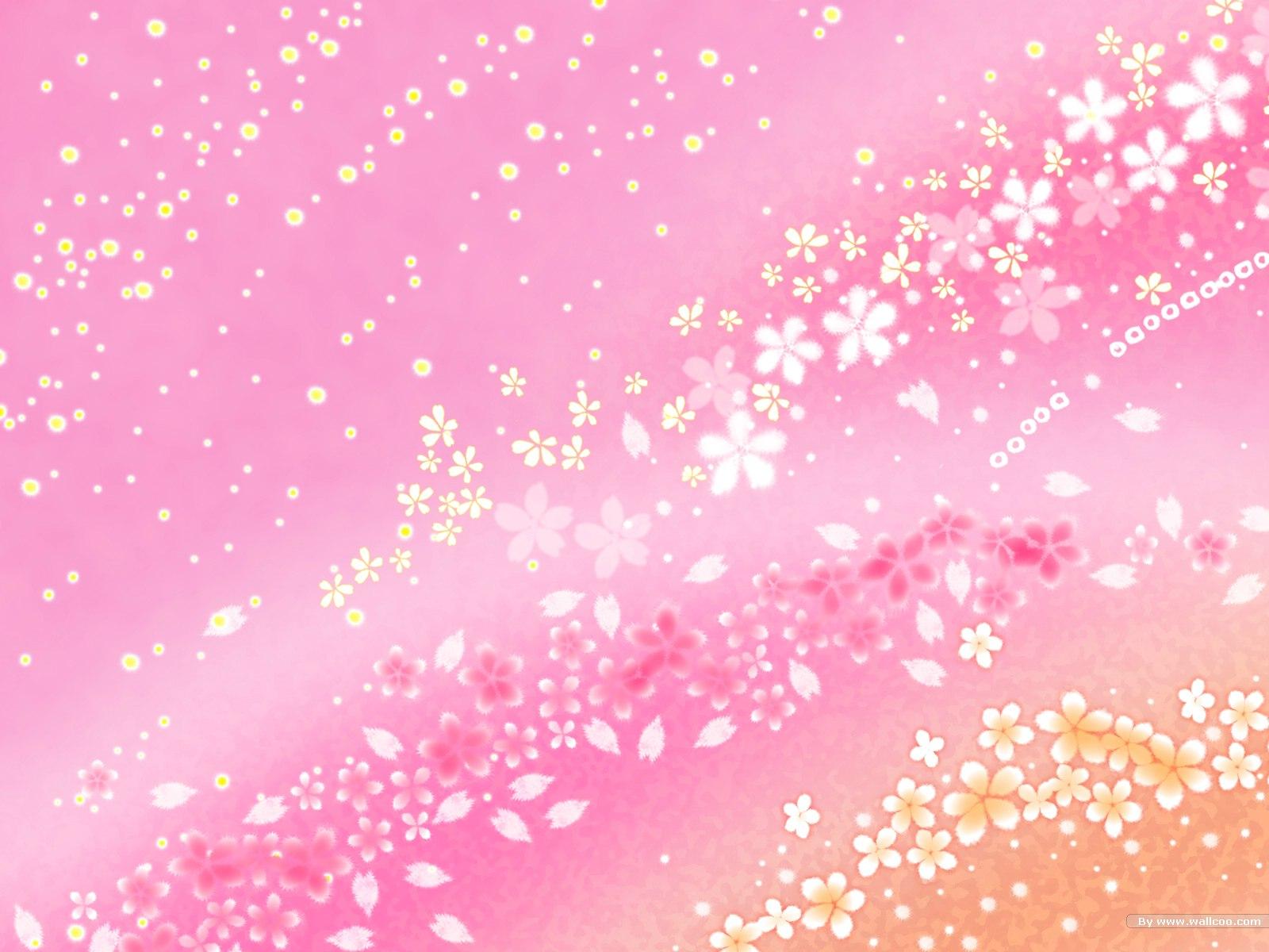 漂亮的樱花花瓣背景图片素材 31P