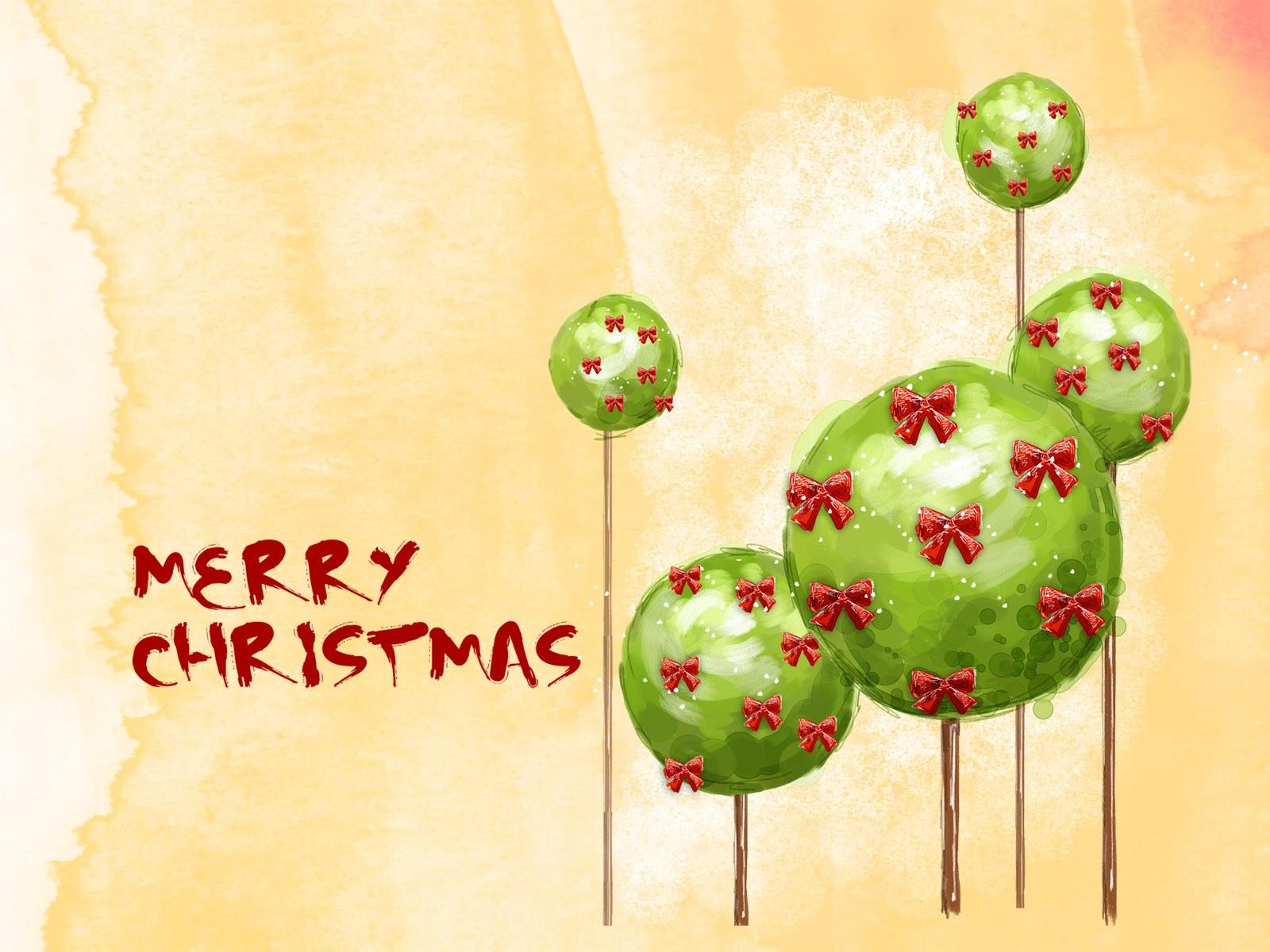 圣诞新年雪天高清背景图片素材