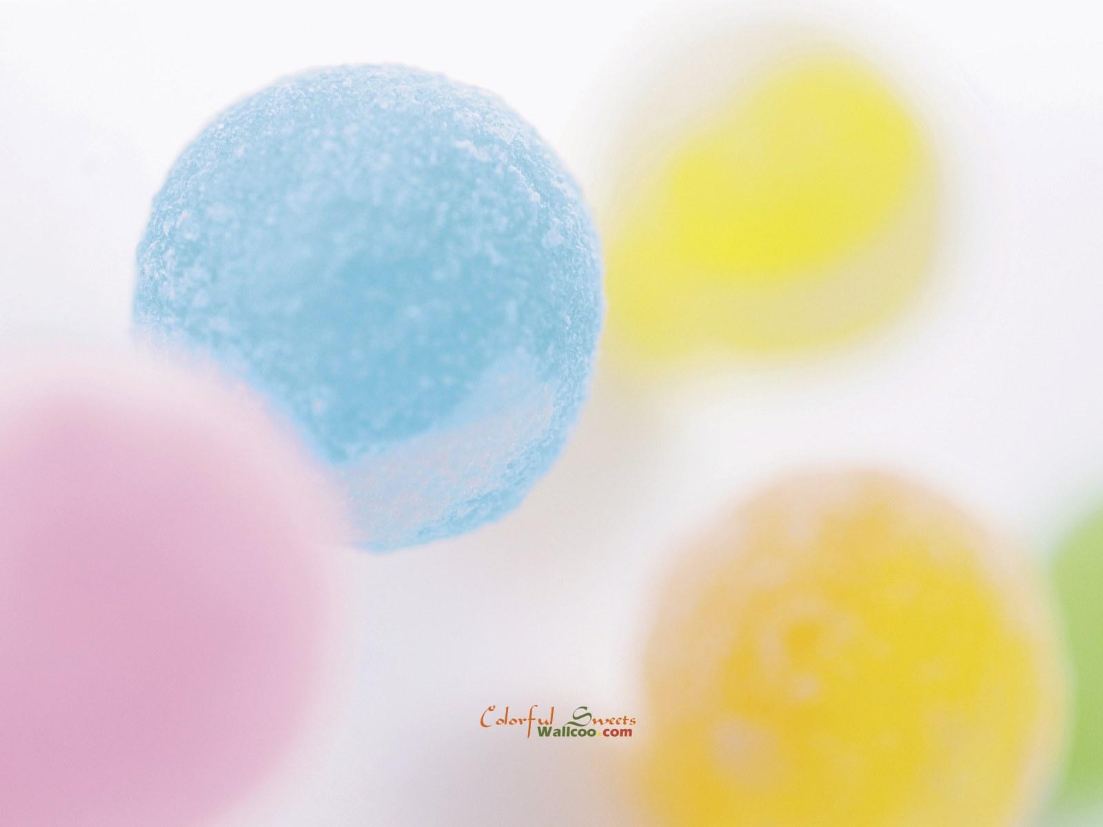 非常可爱的缤纷糖果高清背景图片素材2