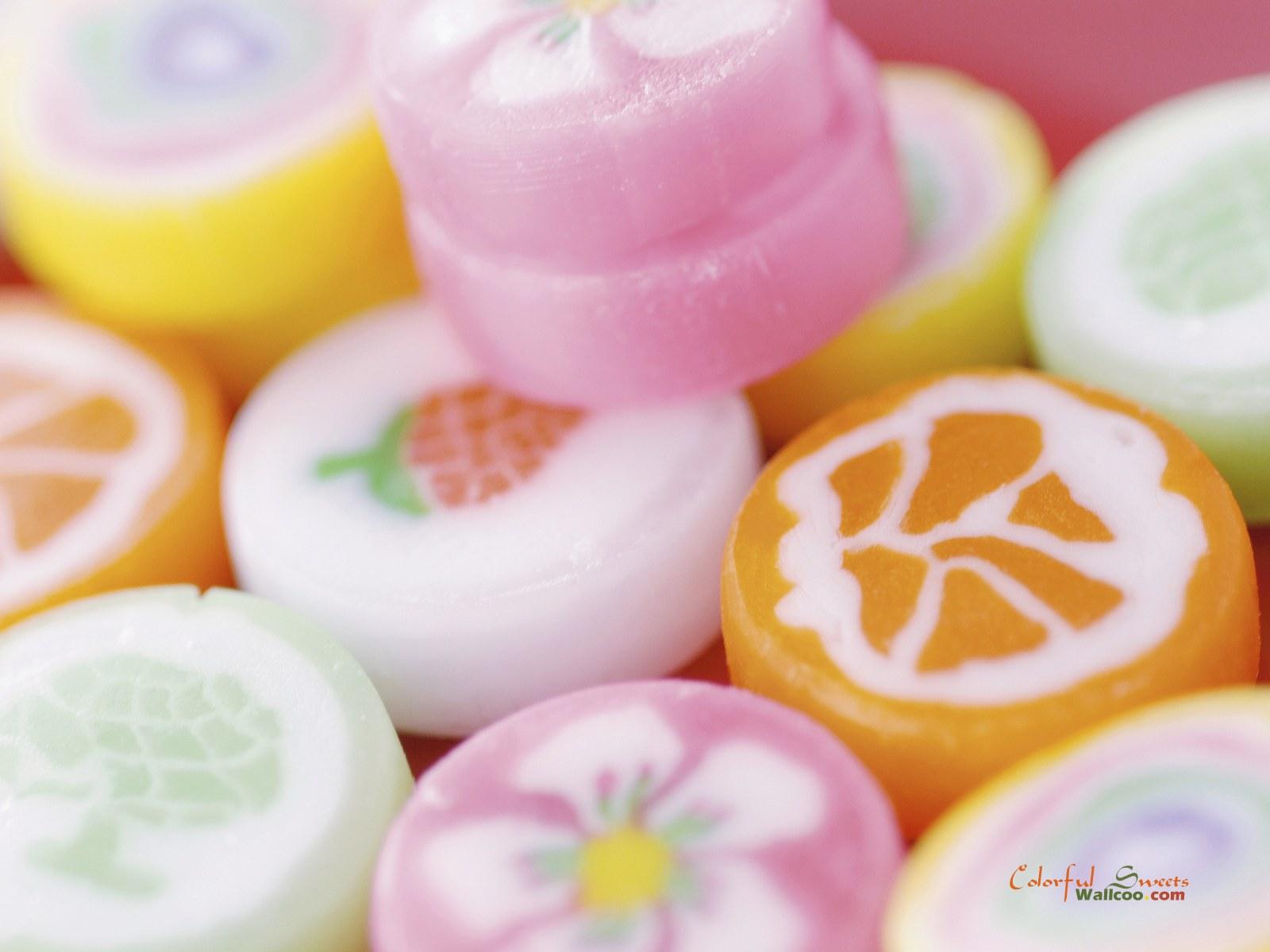 非常可爱的缤纷糖果高清背景图片素材4(25p)