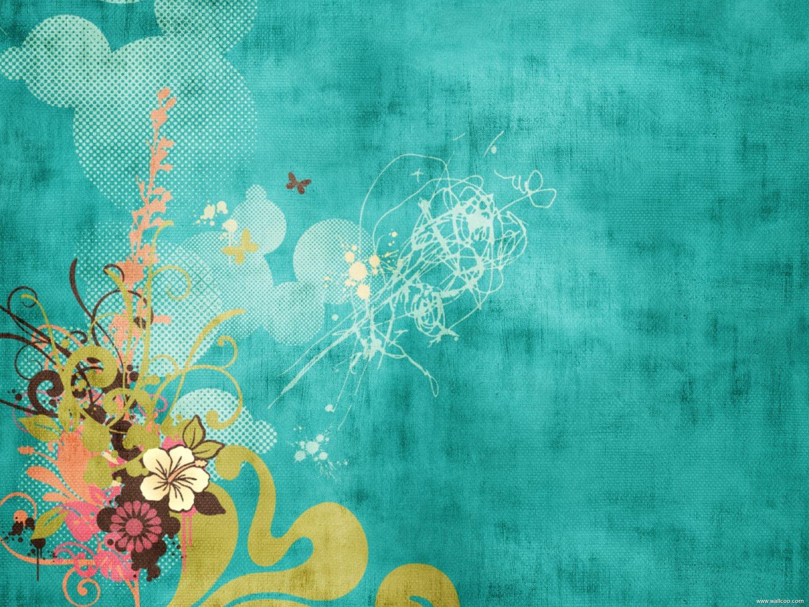 可爱的碎花背景高清图片素材专辑1(16p)[中国资源网