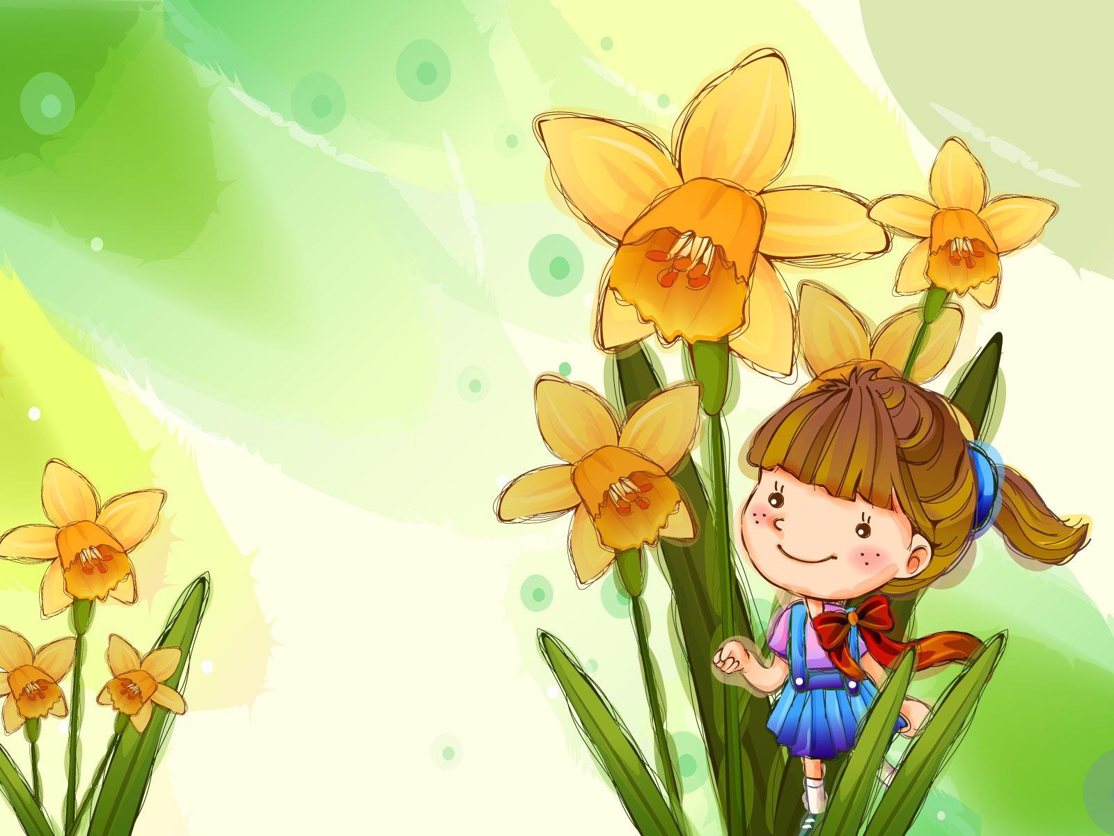 可爱的卡通风格儿童模板 背景素材 1 20p 中国 高清图片