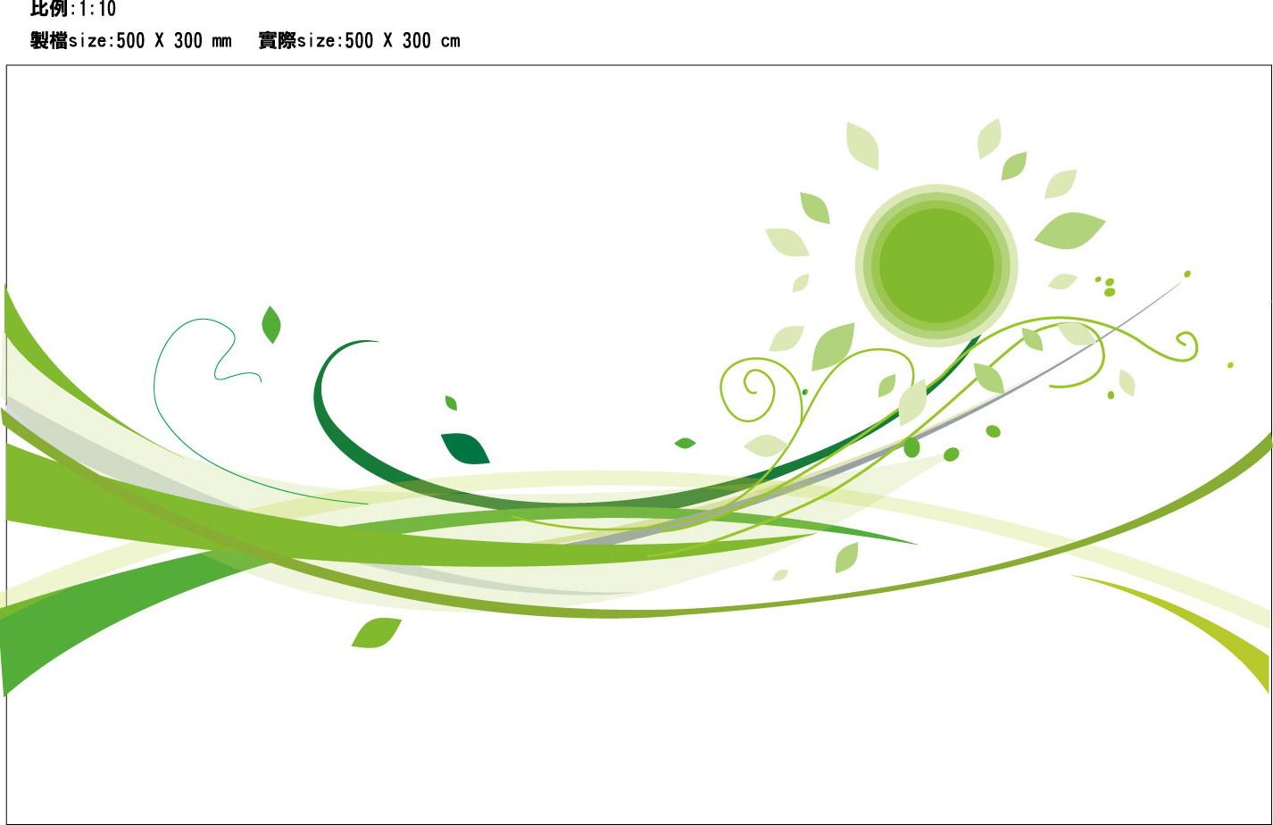 花草植物邊框創意psd分層素材 大圖網設計素材下載