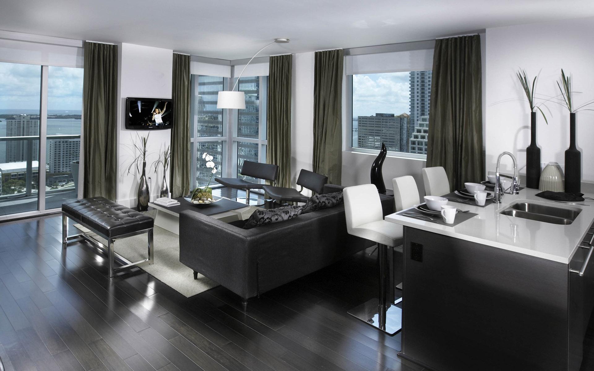 时尚的客厅装修效果图高清图片素材2(20p)[中国资源