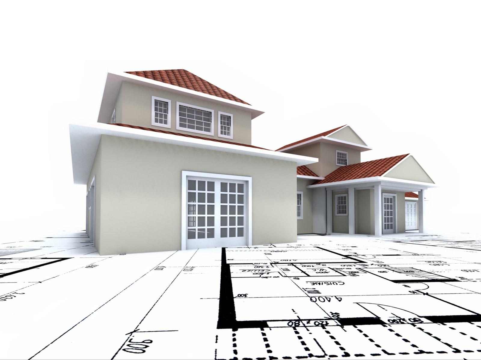 壁纸 建筑/建筑设计图建筑模型高清图片素材专辑1(20P) [作者来源:黄叶...