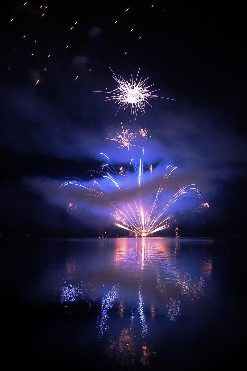 世界各地城市夜晚焰火烟花风景图片素材(20p)