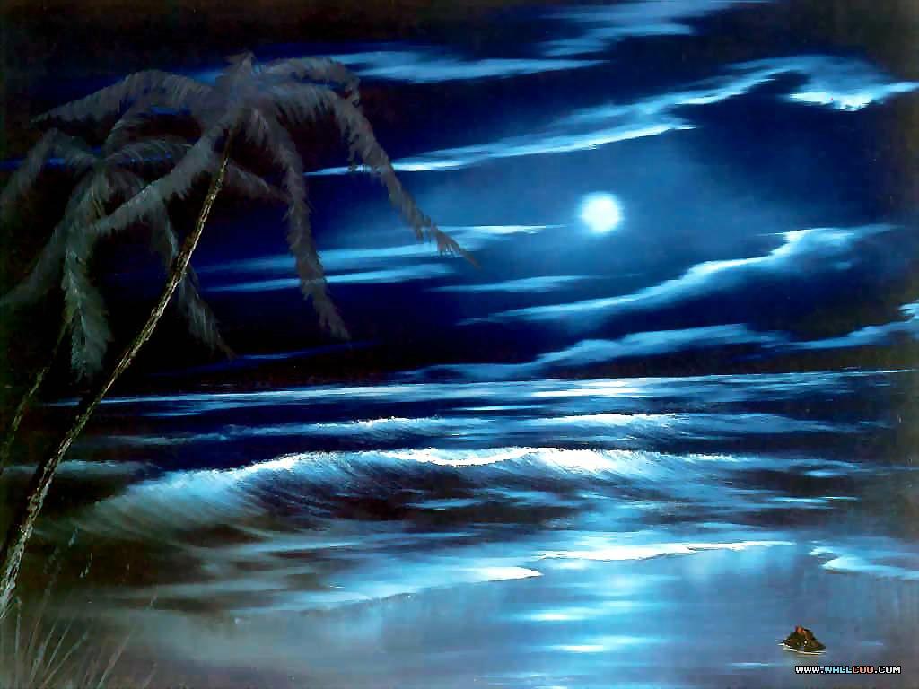 美丽的山水风景油画图片素材(20p)