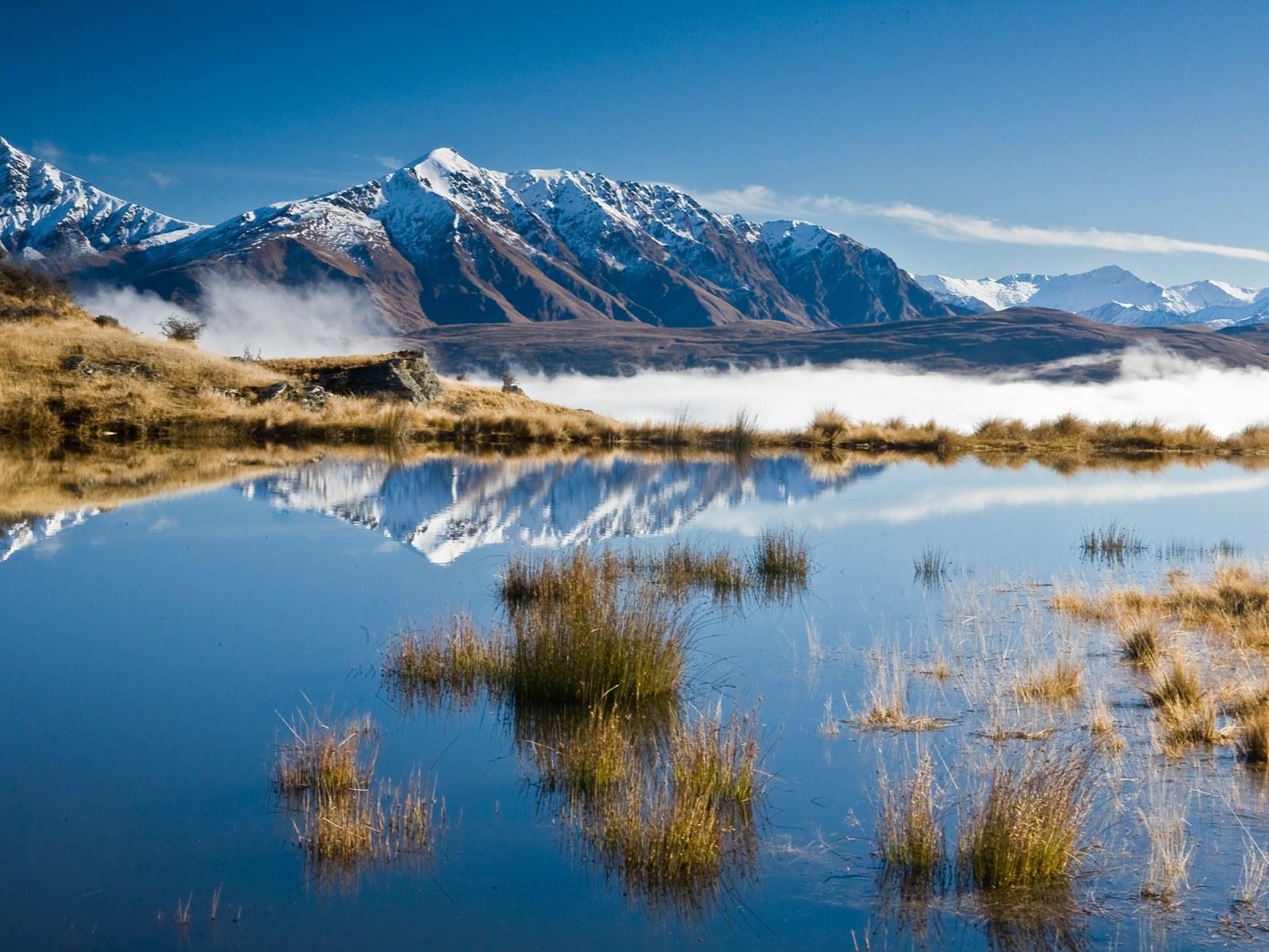 高清晰新西兰雪山冰湖风景图片素材(31p)[中国