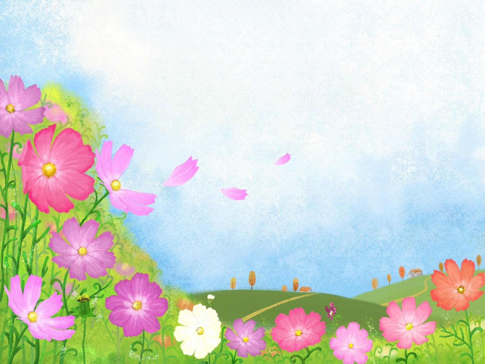 韩国金秋主题卡通插画背景素材(21p)[中国photoshop