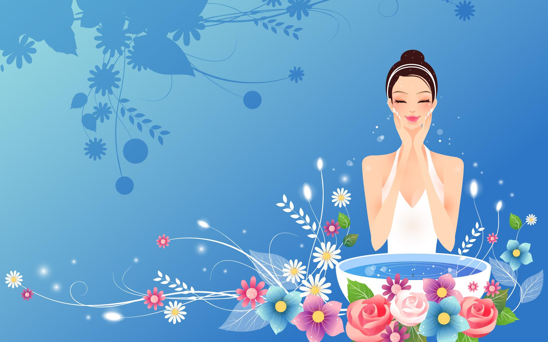 漂亮的卡通高清密码图片素材(40P)[中国Photo解锁美女美女图片