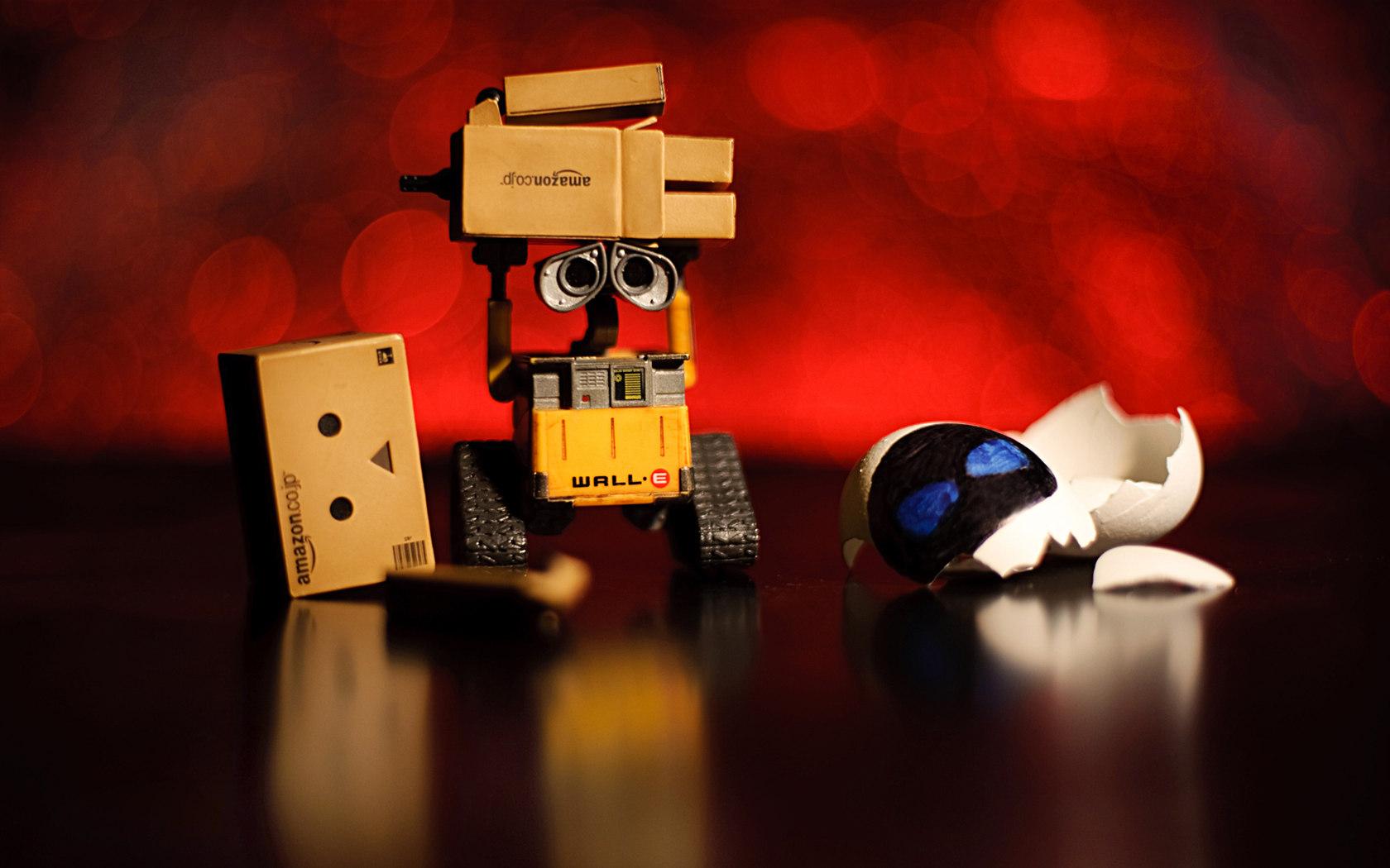 可爱的卡通纸盒小人高清图片素材下载(24p)[中国资源