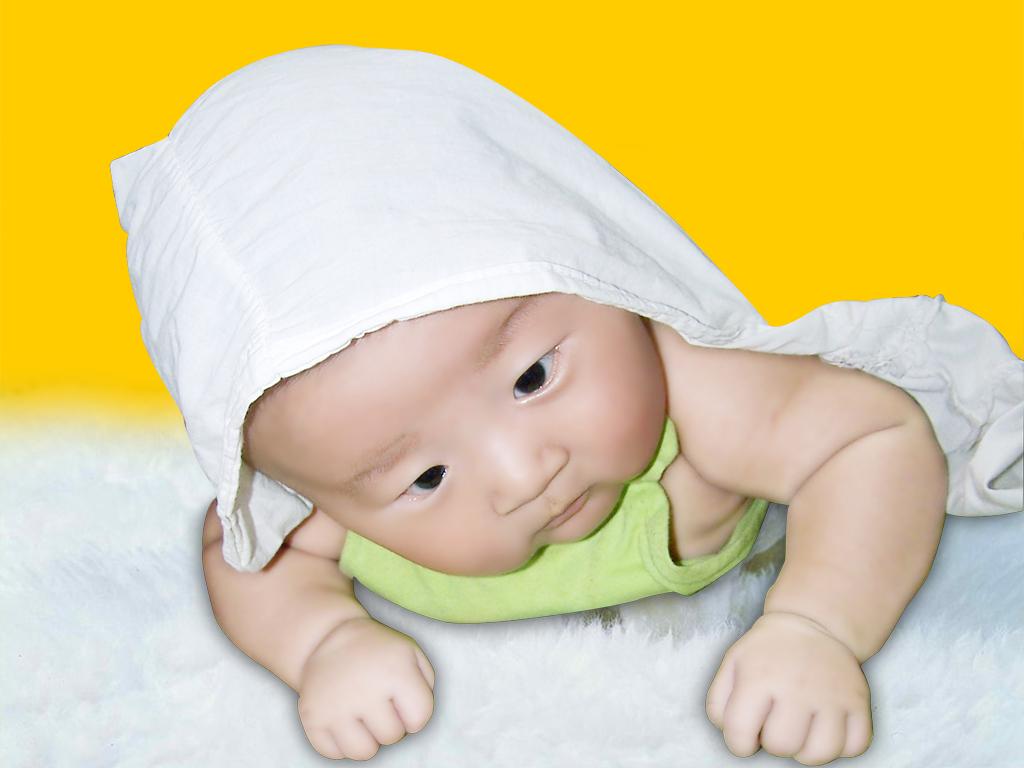 可爱的中国宝宝高清图片素材(8p)[中国photoshop资源