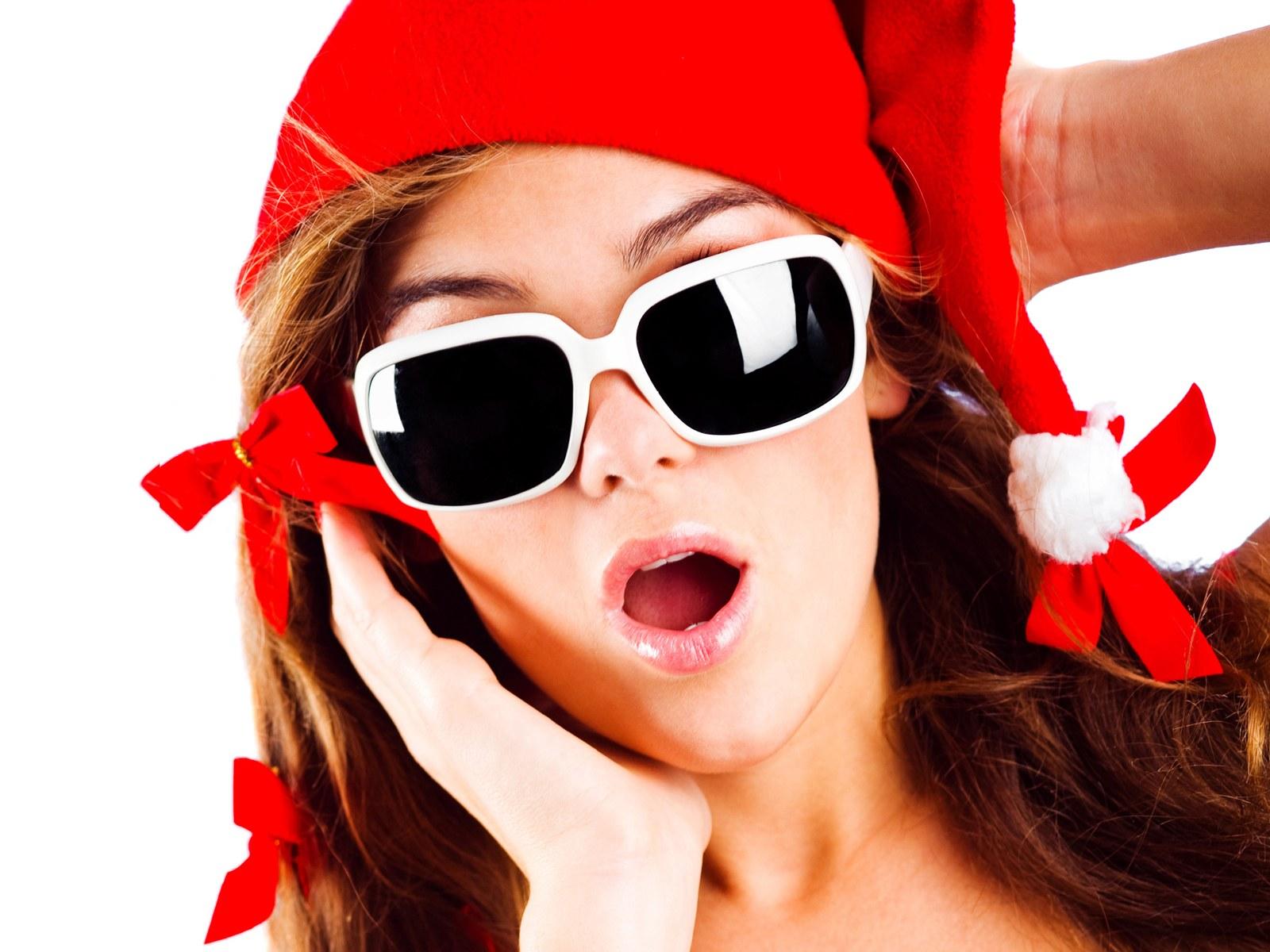 可爱活泼的圣诞大全美女模特图片素材(28P)[中广告背片身图片图美女图片