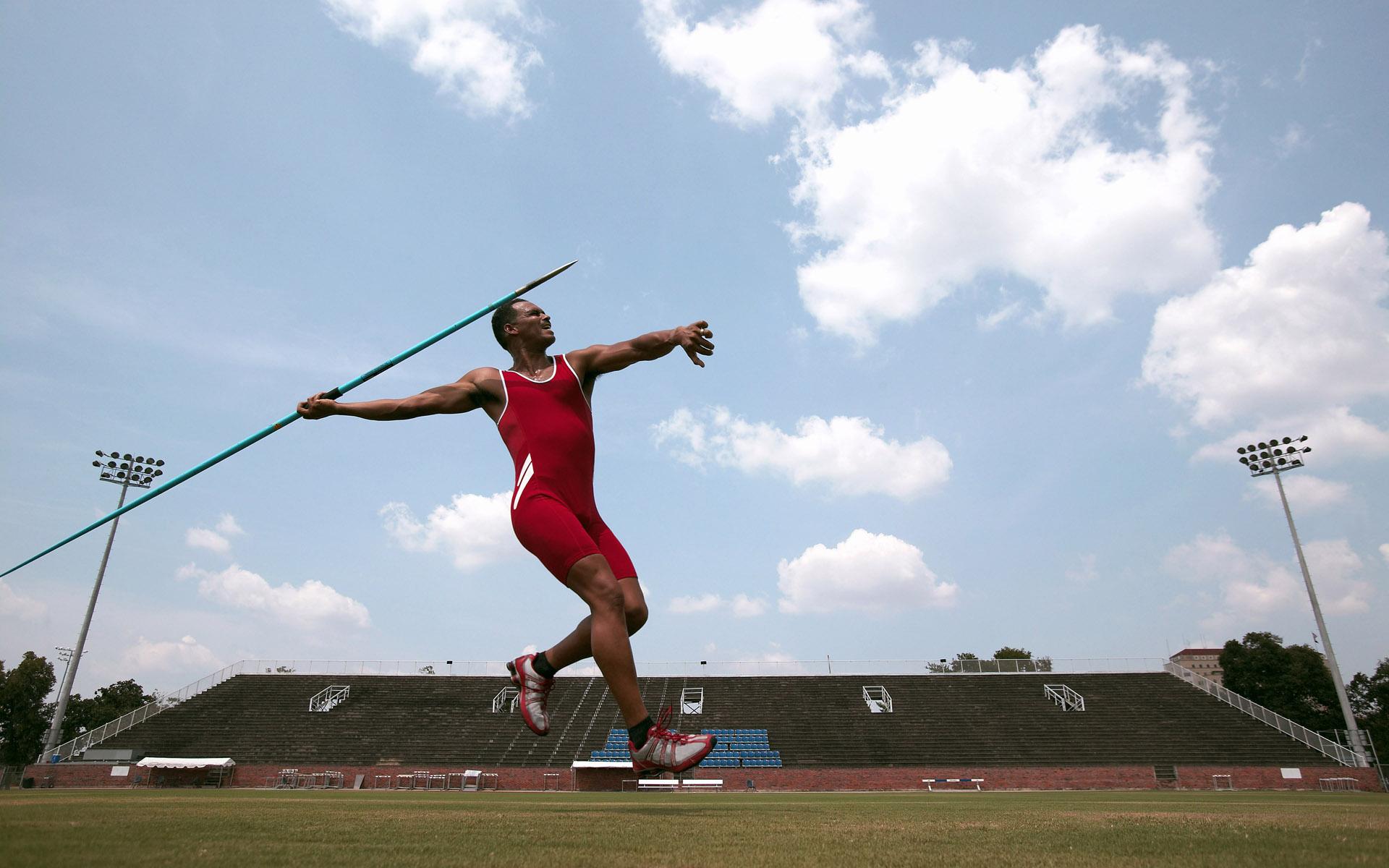 田径运动场运动员比赛矫健的身姿图片素材2(2