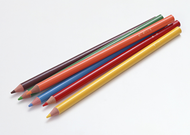 超高精度铅笔水彩笔图片素材 23P