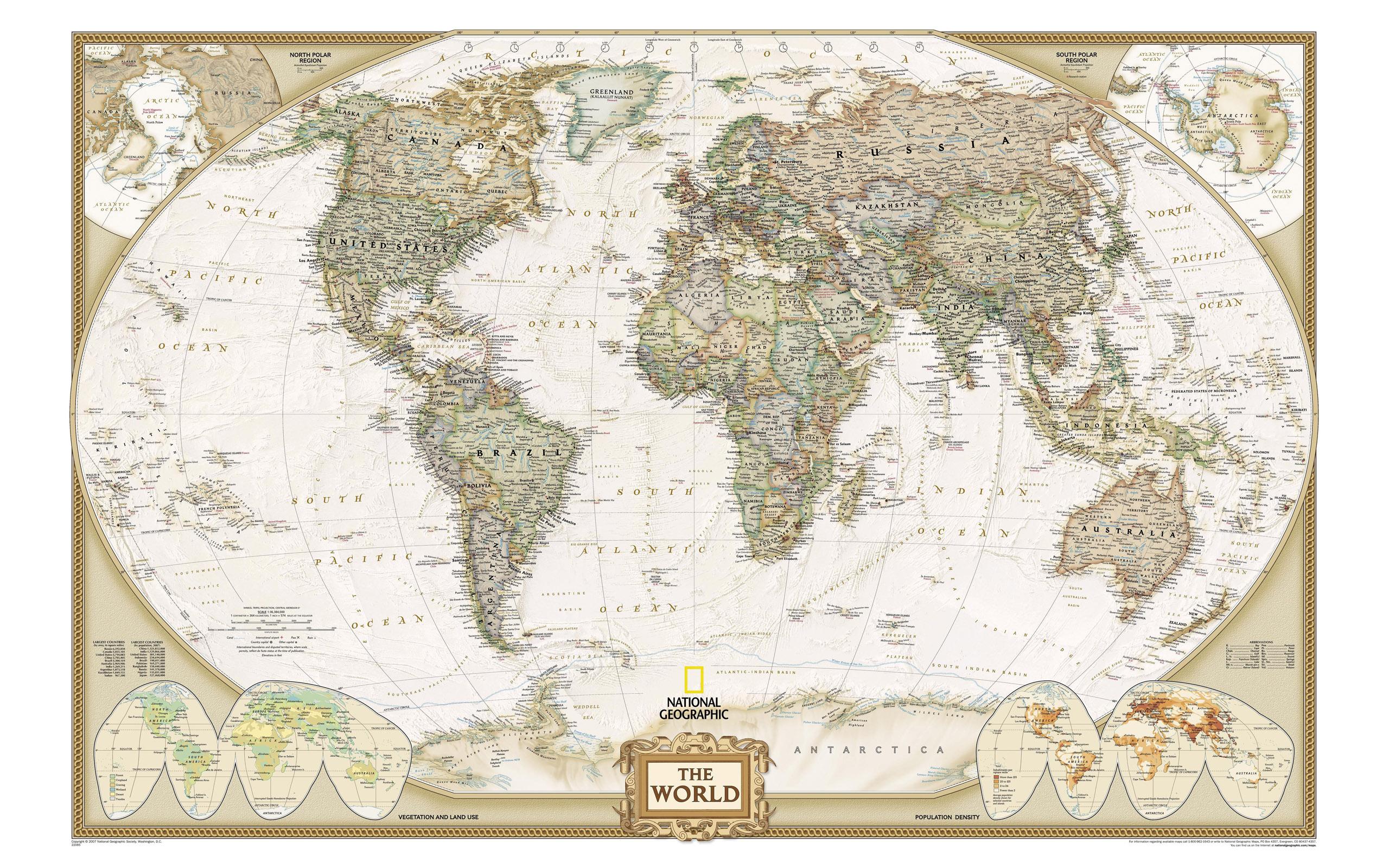 实用的世界地图高清图片素材专辑2(20p)