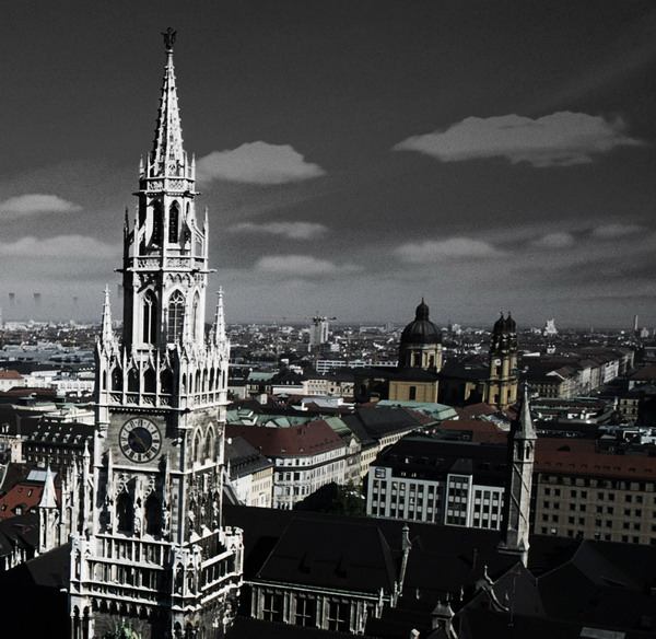 背景大图素材 城市建筑街景篇 23P图片