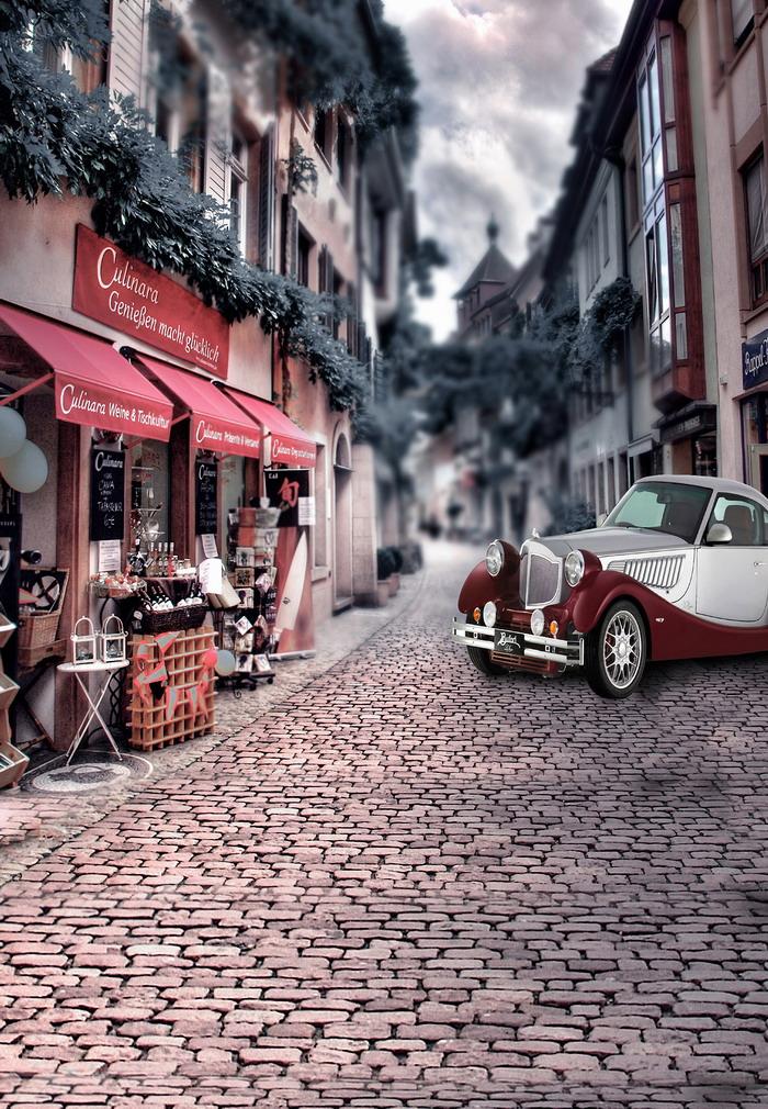摄影背景布高清大图影楼棚拍照片常用的背景素材-道路图片
