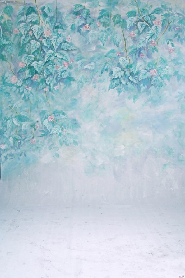 摄影背景布高清大图影楼棚拍照片常用的背景素材-春天的花儿背景30p