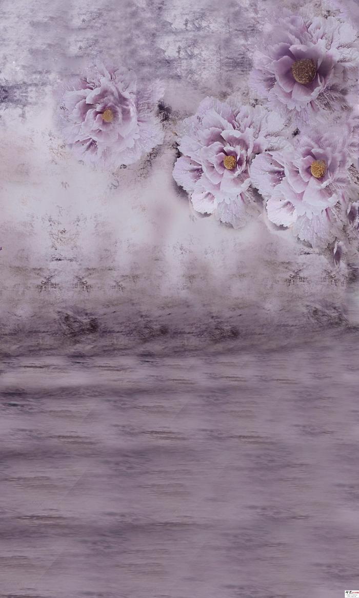摄影背景布高清大图影楼棚拍照片常用的背景素材 春天的花儿背景30P