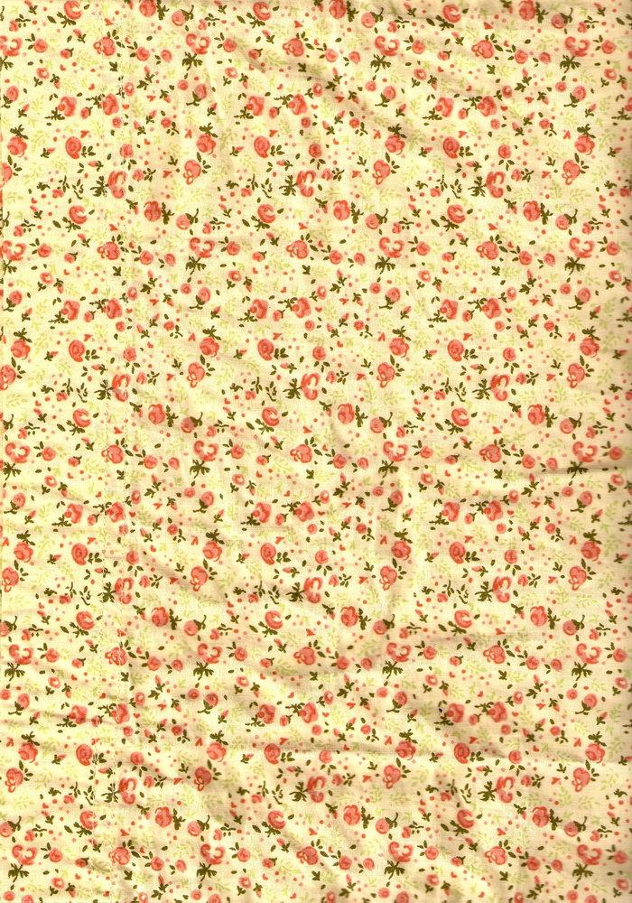 常用的中国传统风格小碎花布纹素材
