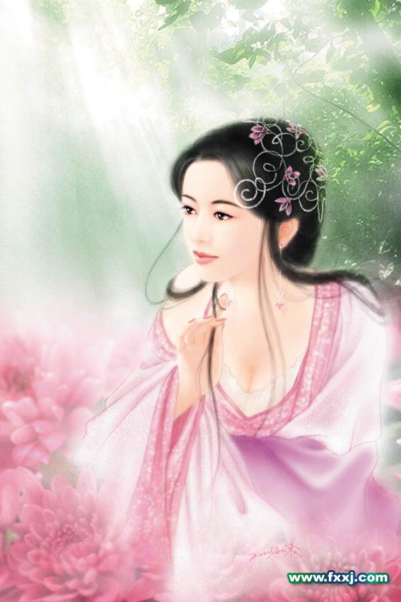 照片ps古典美女_性感古典美女写真4P[中国PhotoShop资源网|PS教程|PSD模板|照片处理|PS ...