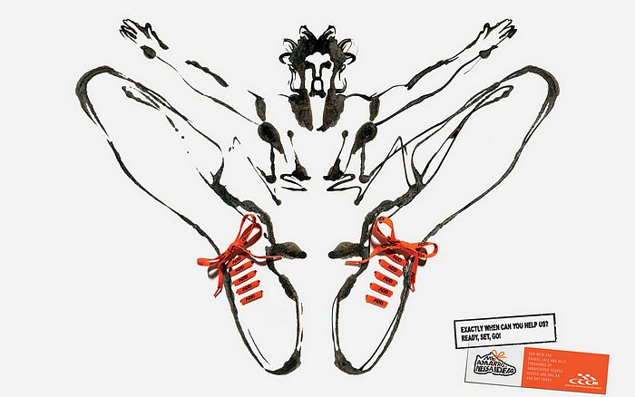 世界残疾人运动会创意宣传海报ps作品欣赏(9p)[中国photoshop资源网