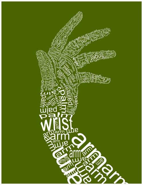 极富创意的图片表演海报设计作品欣赏(24P)[中文字组合腰鼓设计图图片
