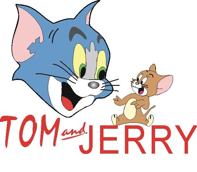 猫和老鼠卡通图片_动画片猫和老鼠简笔画图片_面包站图片