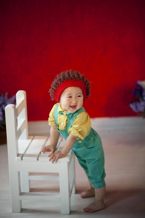 一岁宝宝照片创意图片_可爱的周岁宝宝写真样片小嘻嘻系列全套(25P)[中国PhotoShop资源网 ...