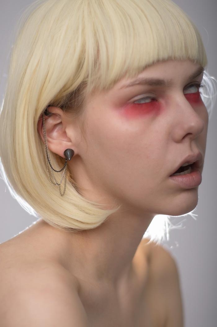 欧美20p交�_修图练习素材 哥特风欧美模特人物高清raw原片素材20p