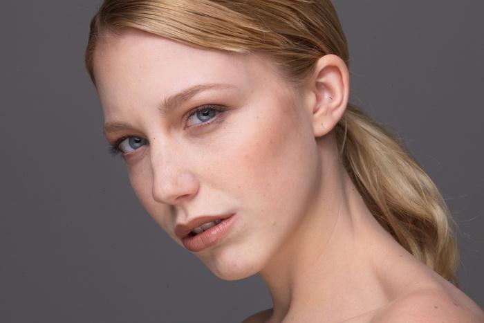 修图磨皮练习好素材欧美模特脸部特写raw原片26p