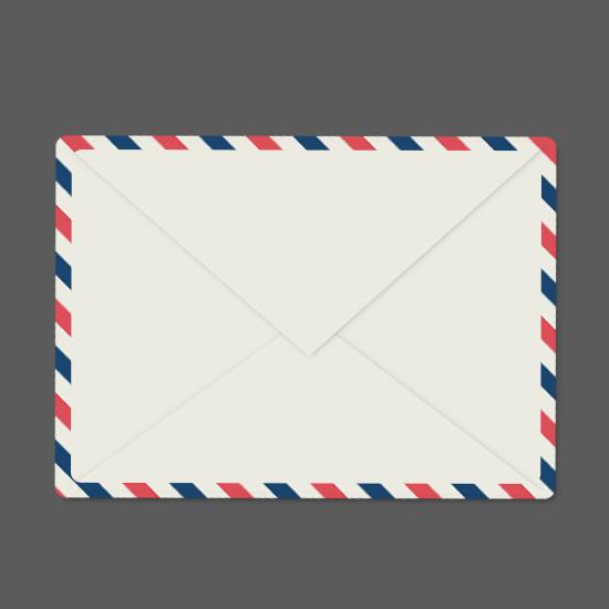 photoshop绘制一个可爱的矢量风格信封的详细教程