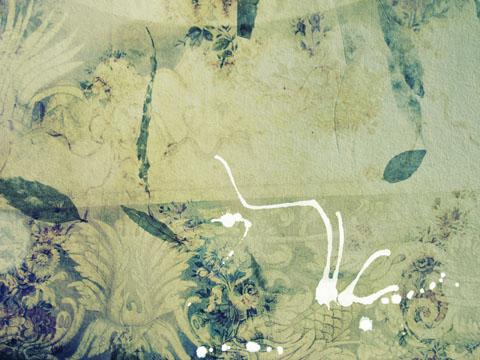 ps背景大图打包下载 污渍复古蓝色花纹背景设计素材