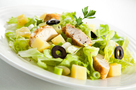 素材下载ps背景大图打包下载 高清鸡肉蔬菜沙拉美食素材设计图片下载