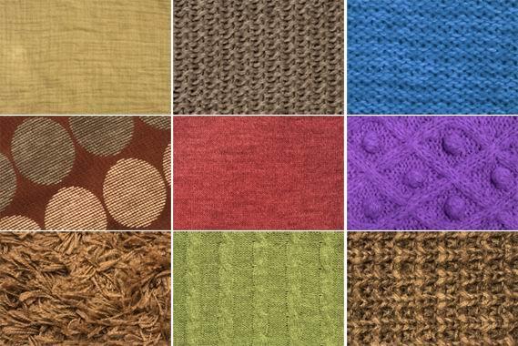 9张毛衣毛线针织纹理材质背景贴图素材高清图片打包