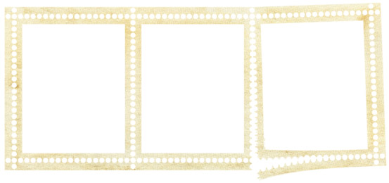 宽幅png透明底邮票样式边框素材高清图片下载