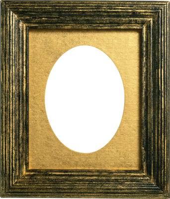 png格式透明背景怀旧金色木头画框高清图片下载图片