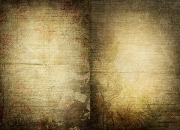 棕色木板纹理背景高清素材图片下载  2张怀旧花纹文字信纸纸张纹理