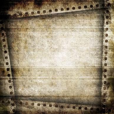 怀旧电影胶片边框污渍纹理背景素材高清图片下载1