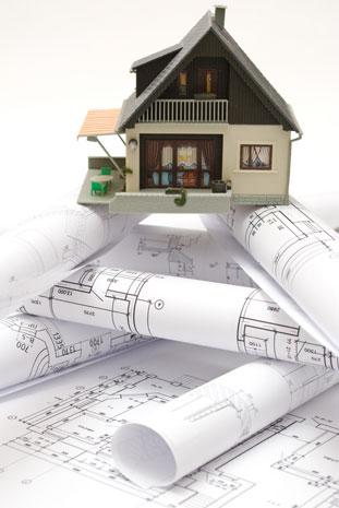 房子建筑施工图纸与3d模型图片高清素材下载4