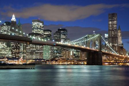 高清图片 风景图片 城市 >> 图片信息  繁华的美国纽约城市夜景高清
