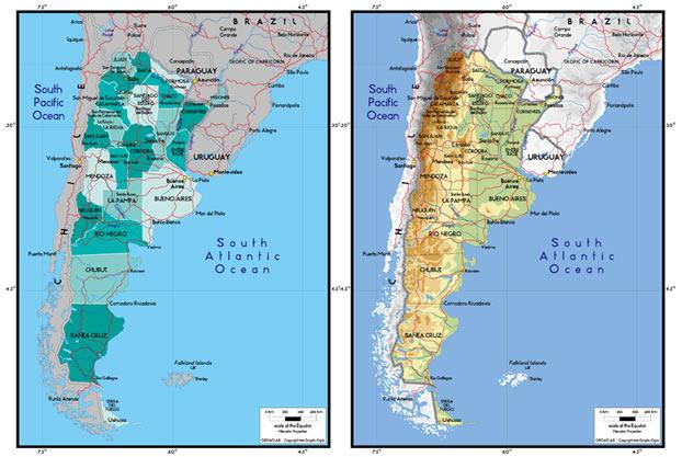 世界地图/阿根廷地图高清图片素材免费下载86ps.com