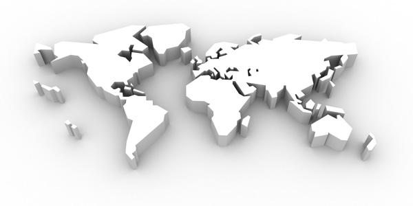 卫星全图世界地图高清图片素材下载