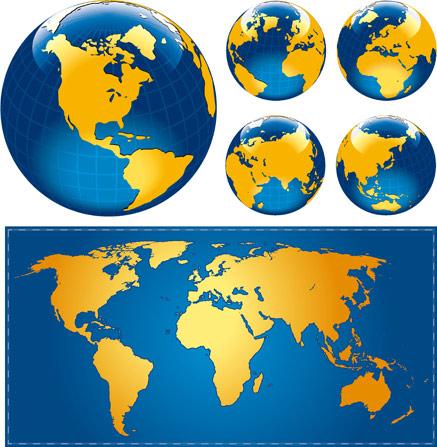 世界地图高清图片素材免费下载86ps.com