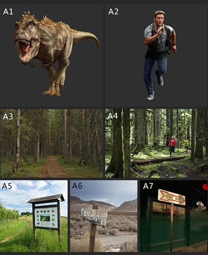 侏罗纪世界电影海报素材恐龙,森林等高清图片免费下载