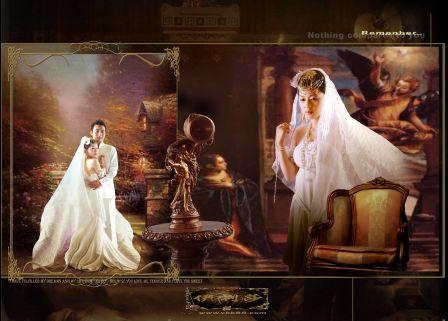 中国photoshop资源网 psd素材 影楼模板 婚纱模板 欧式风格2011年婚纱