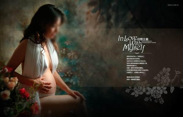 孕味|最新时尚孕妇写真模板psd素材免费下载2 [中国网