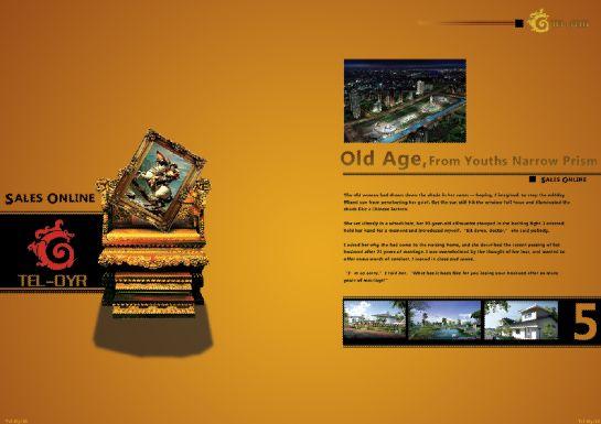 地产画册模板psd素材欧式园林主题地产宣传画册模板1